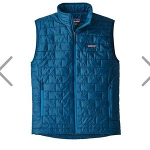 Patagonia Men's Nano Puff Vest big sur blue MED